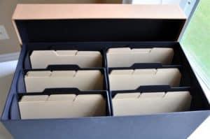 Photo Storage box from HeartWork Organizing, small