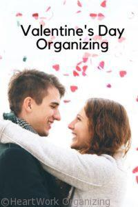 Valentine's Day Organizing