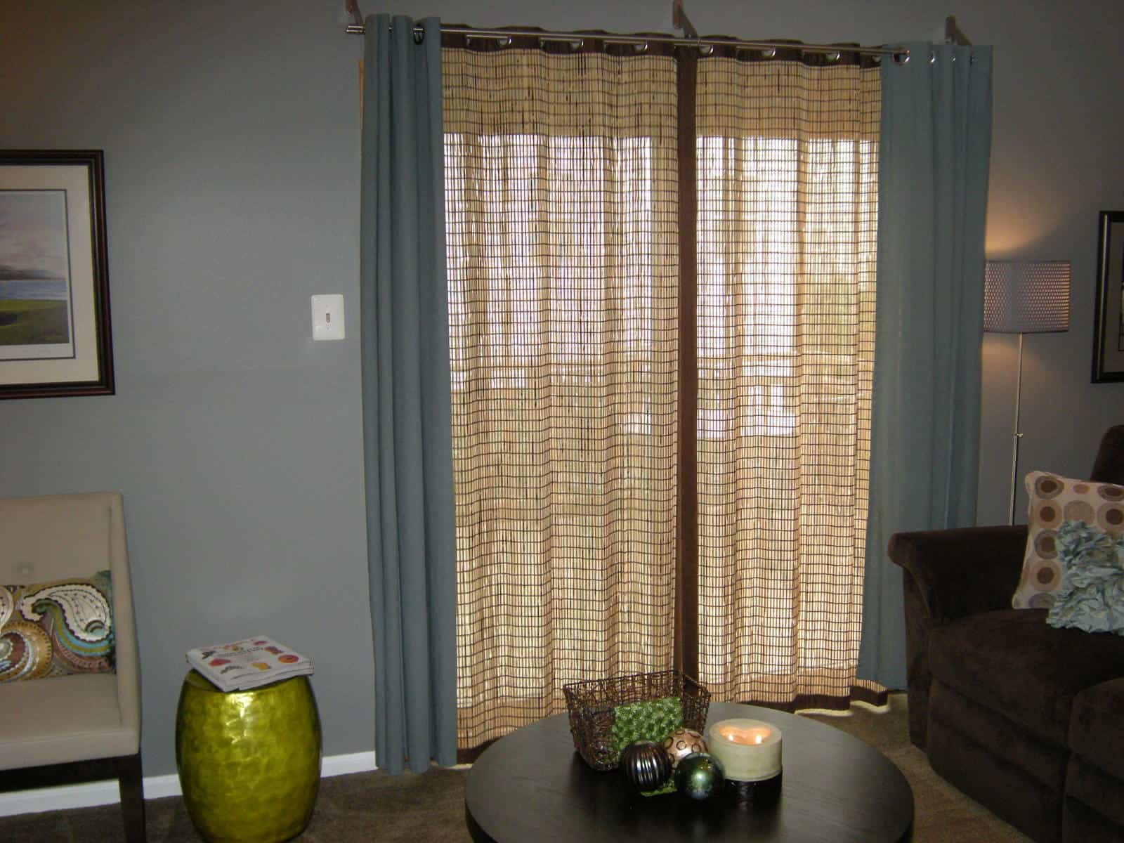 Patio Door Window Treatment ...