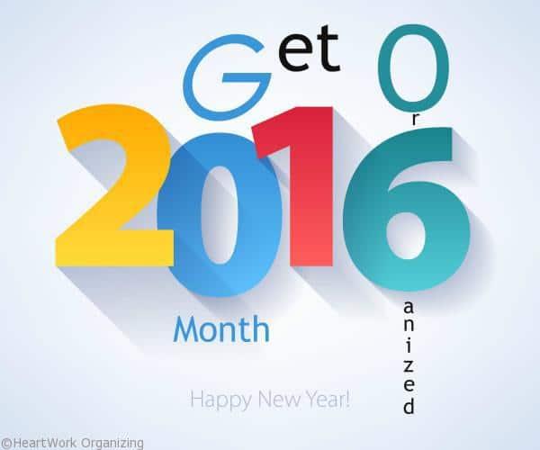 Get Organized 2016