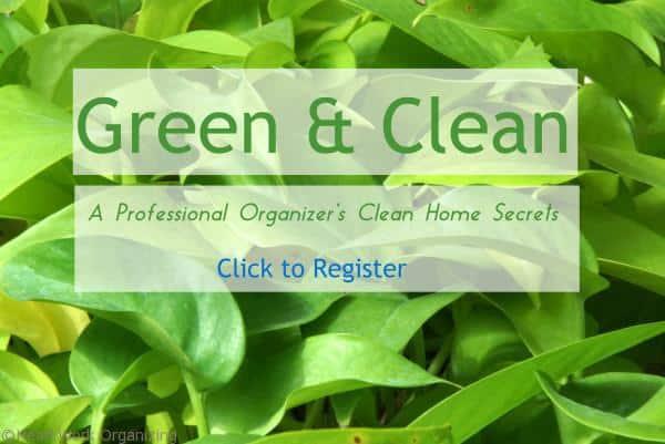 A professional Organizer's Clean home Secrets 3/21/16