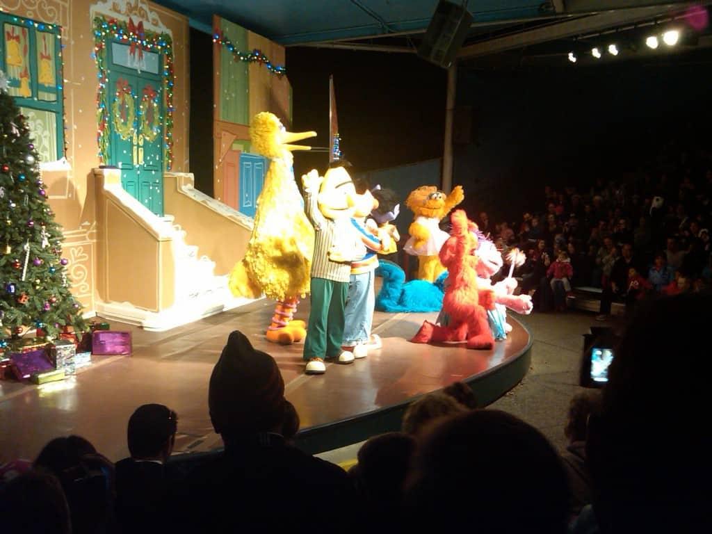 Sesame Place Christmas Show