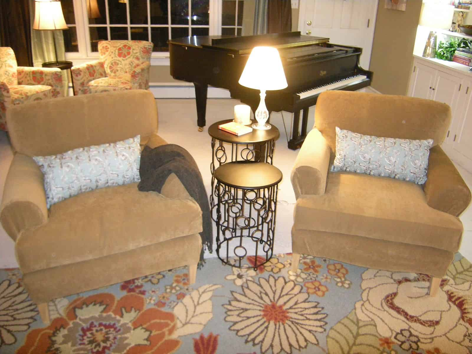 club chairs with slipcovers