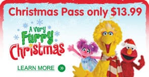 Sesame Place Christmas Event
