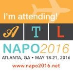 NAPO National Association of Professional Organizers Conference logo