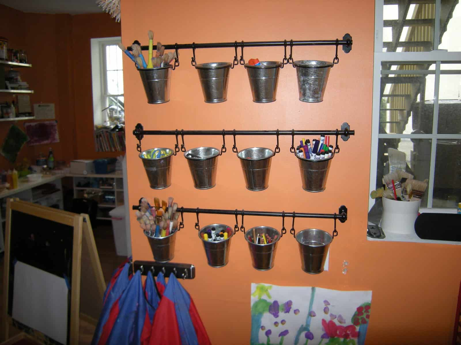 how to organize kids art projects heartwork organizing tips for organizing your home. Black Bedroom Furniture Sets. Home Design Ideas