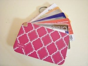 how to organize a purse for credit cards