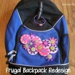 Frugal Backpack Redesign