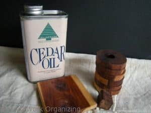 preventing moths using cedar oil