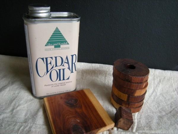 preventing moths using cedar oil