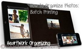 organizing digital photographs