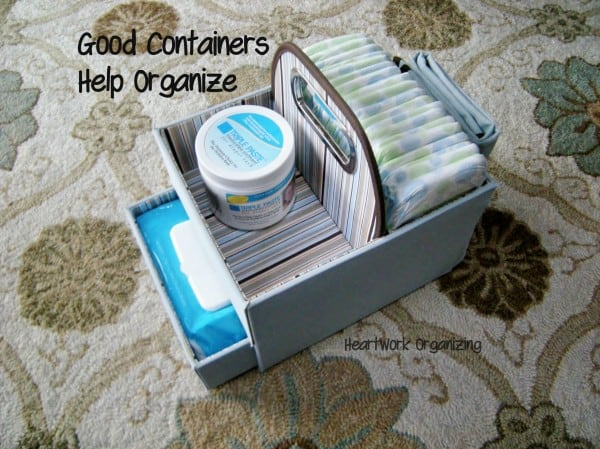 How to organize and how to choose containers for organizing