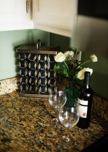 Kitchen makeover with faux granite
