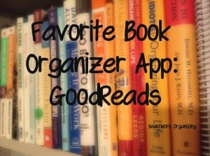 How to organize home library with GoodReads app