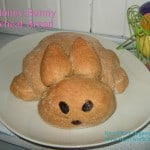 Honey Wheat Bunny Bread