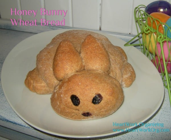Honey Bunny Wheat Bread for Easter