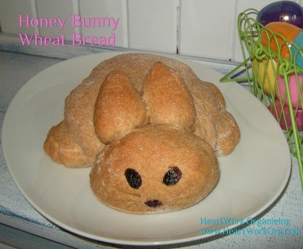 Honey Bunny Wheat Bread
