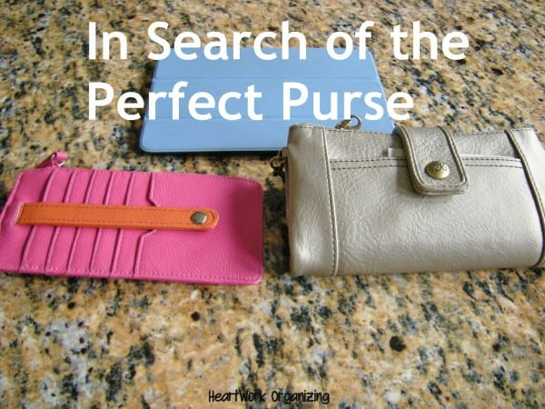 organizing purse