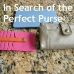 In Search of the Purfect Purse…Again