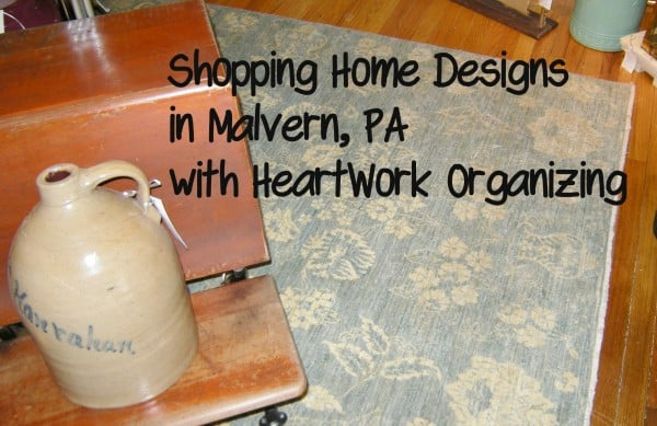 Shopping Home Designs ni Malvern PA, UpHome and Knots and Weaves