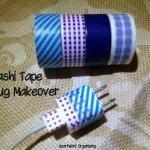 Organizing with Washi Tape