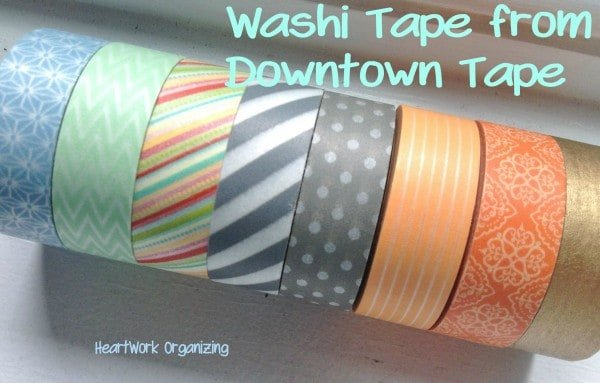 Washi Tape giveaway from Downtown Tape
