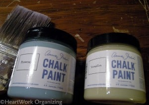 chalk paint Provence and Versailles