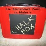 Blackboard Paint Chalk Organizer (Chalkboard Paint)