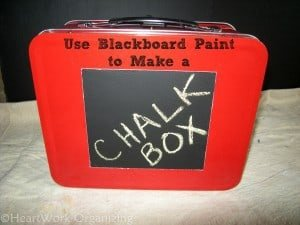 Blackboard paint, Chalkboard paint,storage box