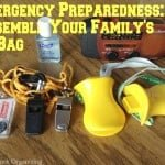Your Family's Go Bag for National Preparedness Month