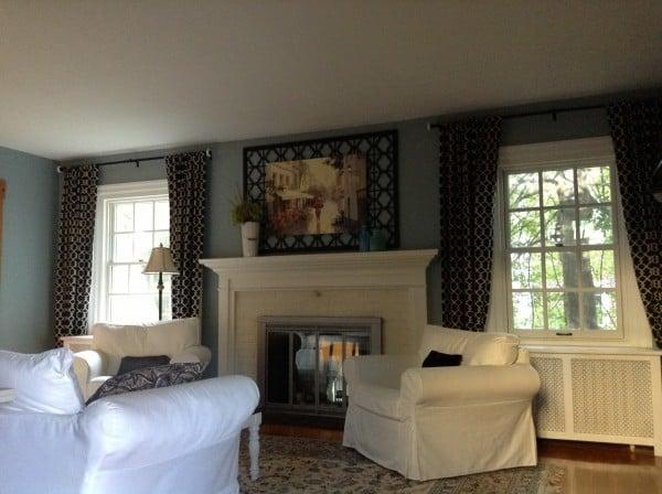 Living room lighting update