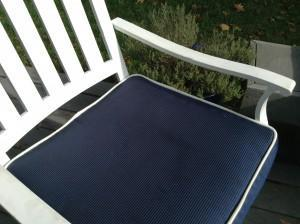 fabric outdoor cushion waterproofing