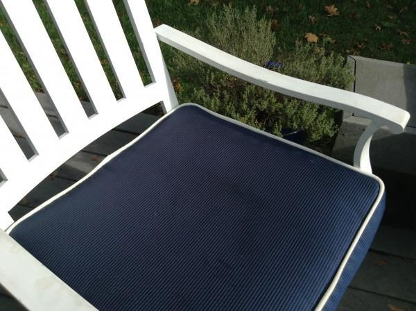 fabric outdoor cushion waterproofing
