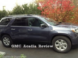 GMC Acadia review