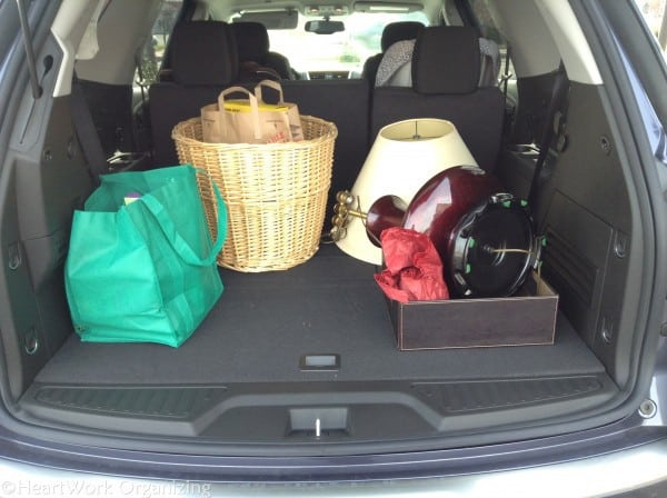 GMC Acadia Storage space