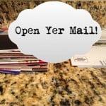 Open Yer Mail {Organizing Mail}
