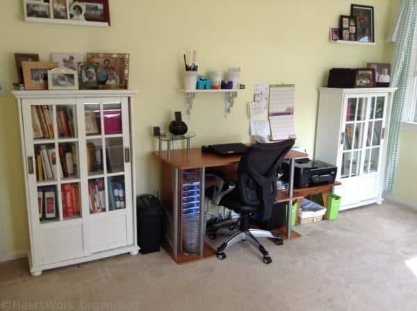 Loft Playroom Makeover desk