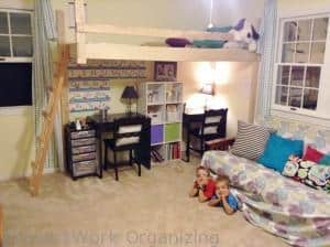 Kids love the loft playroom