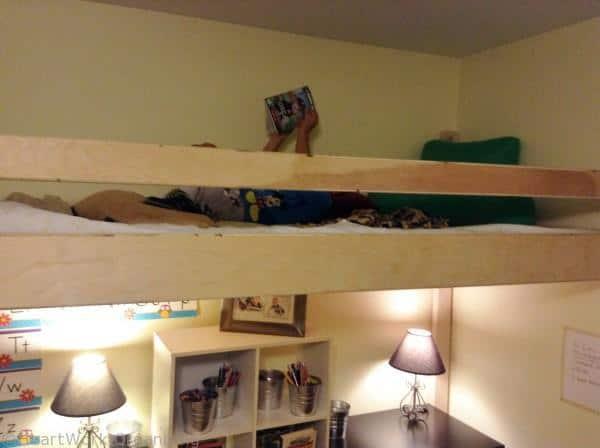reading loft playroom
