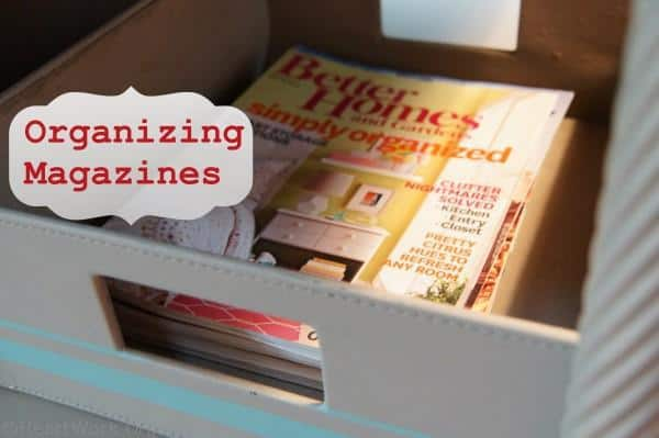 How to Organize Magazines