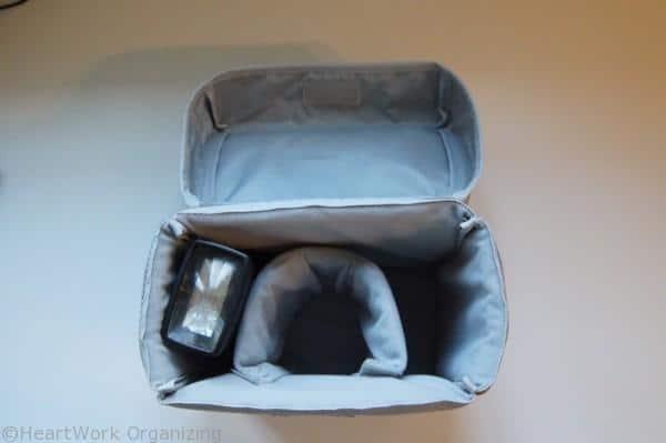 padded camera bag insert