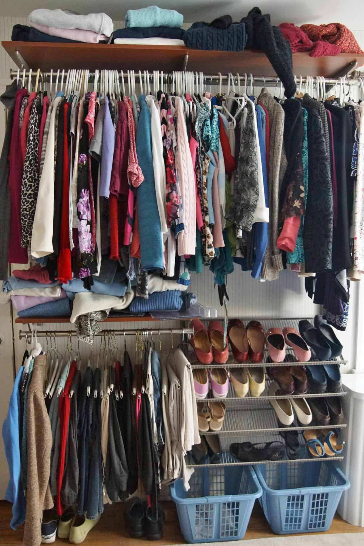 Organizing Clothes Closet Ideas Part - 47: How To Organize A Closet-before