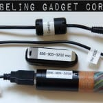 Labeling Gadget Cords: Tame A Big Tangled Mess