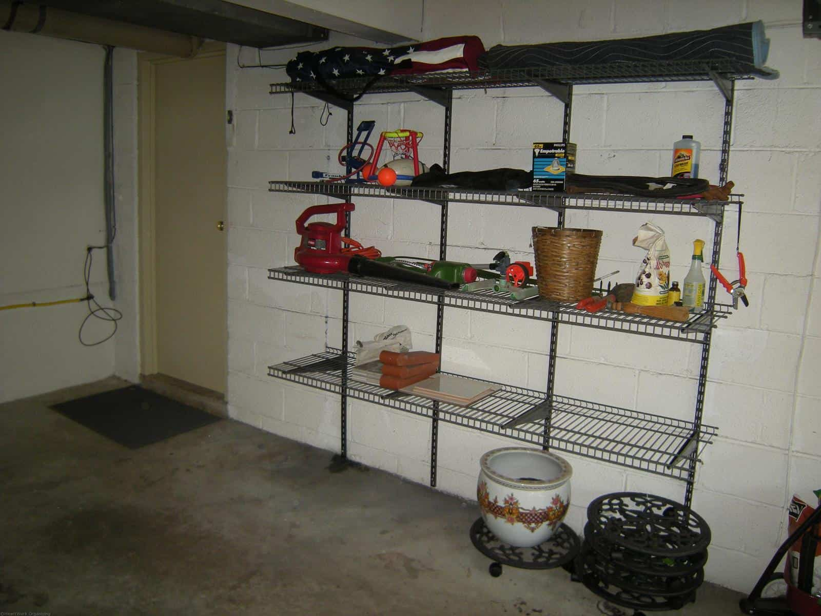 Organized garages or how not to have snow cone on wheels for Garage block