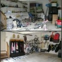Organized Garages {Or, How Not to Have  Snow Cone on Wheels}