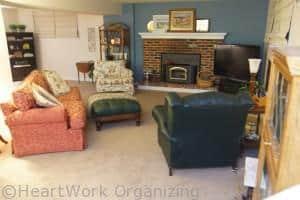 family room makeover- sofa