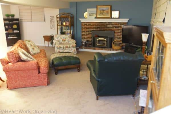family room makeover- sofa