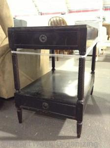 black end table needs a makeover