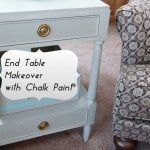 End Table Makeover with Chalk Paint® Decorative Paint by Annie Sloan