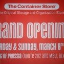 Reasons Not to Shop at the New KOP Container Store (Yet)